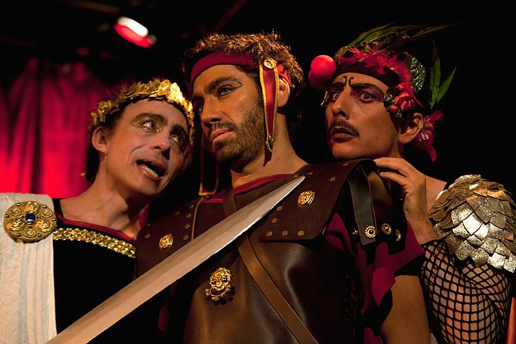 scène de orgie romaine