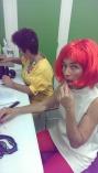 nase maquillage clown emma love et Anne Flore