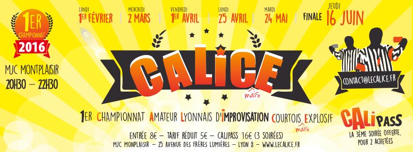 Calice improvisation Lyon