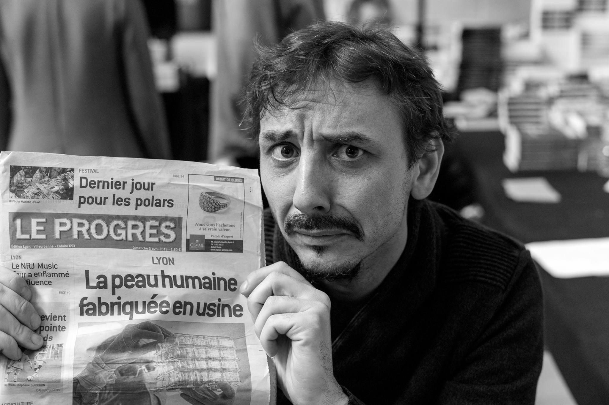 Gael Dubreuil Quais du polar Laurent Bouchard
