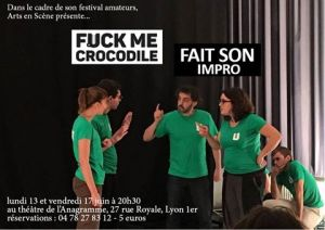 fuck me crocodile spectacle impro