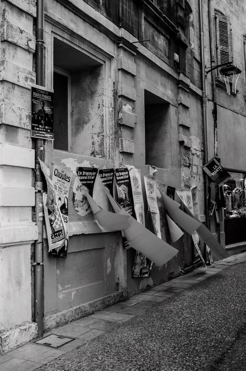 festival Avignon off affiche Anthony Dall'Agnol