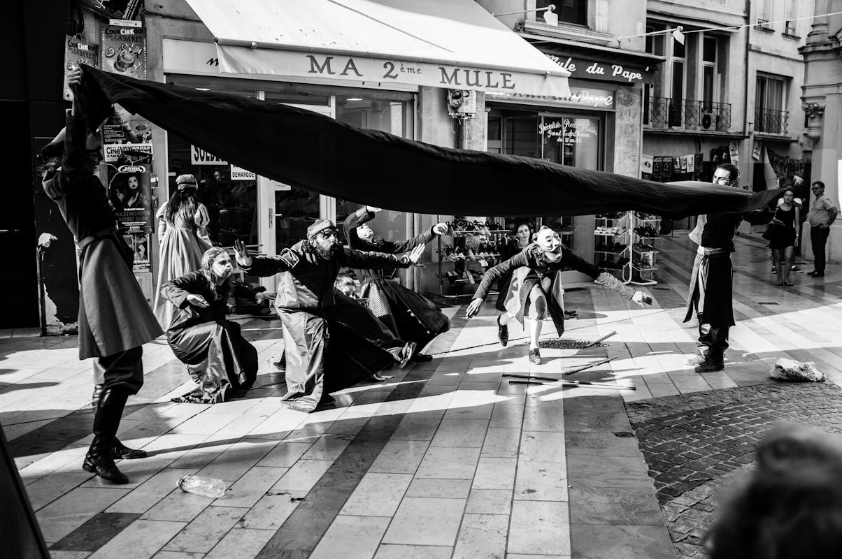 parade festival Avignon off Anthony Dall'Agnol