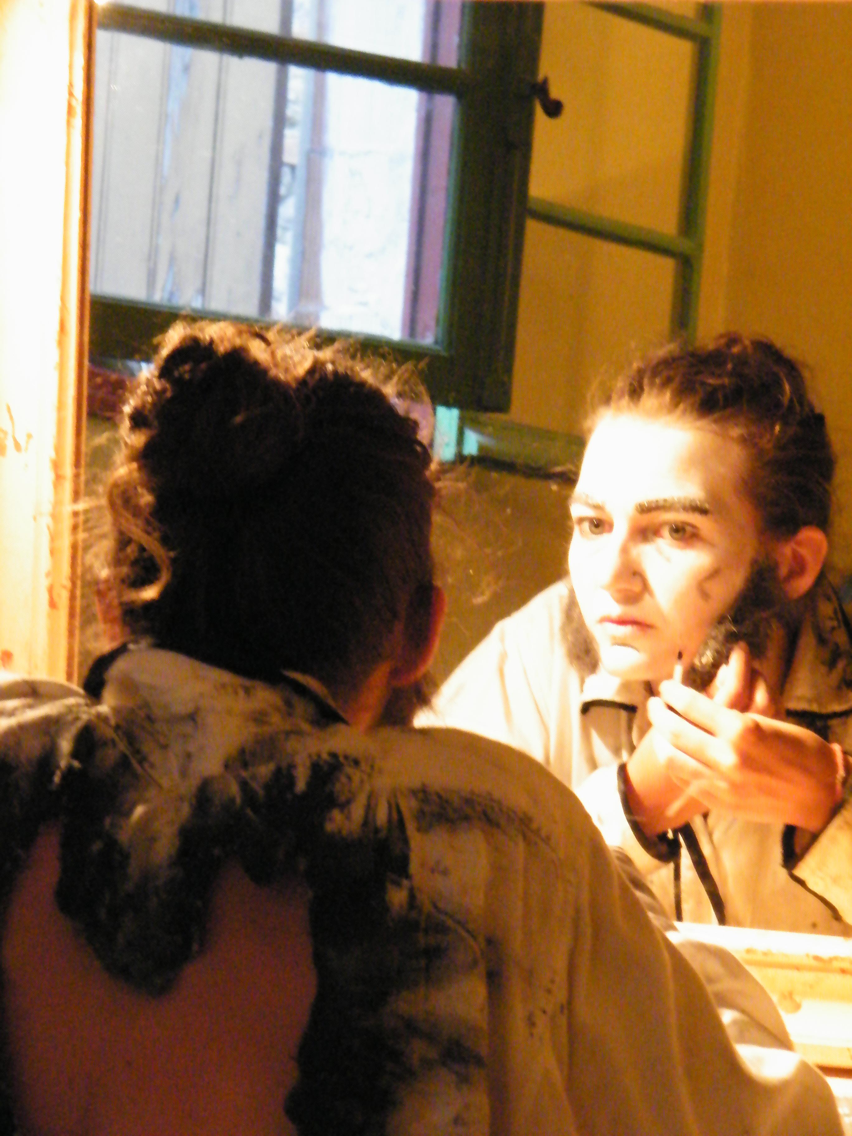 Priscilla Montchalin Cantatrice Chauve avignon off 2010