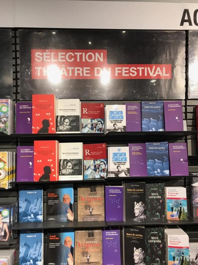 Fnac selection théâtre festival avignon gael dubreuil sur le front avignon ao edition anthony dall Agnol