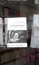 sur le front d'avignon gael dubreuil librairie spectacle avignon